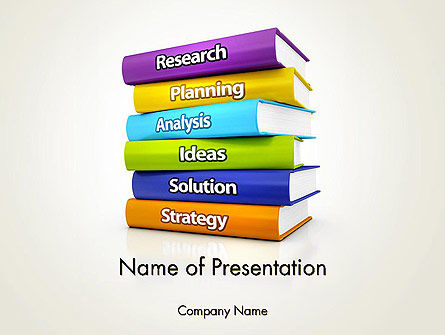 Financial Planning Knowledge Base PowerPoint Template