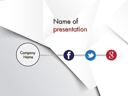 Minimal Company Presentation PowerPoint Template, 12148, Business — PoweredTemplate.com
