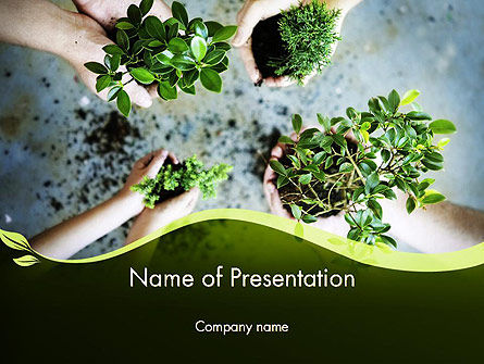 Nature & Environment: Biotechnologie PowerPoint Template #12149