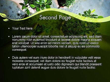 Biotechnology PowerPoint Template, Slide 2, 12149, Nature & Environment — PoweredTemplate.com