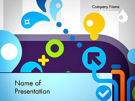 Technology and Science: Mobile Content PowerPoint Template #12150
