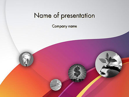 Startup Presentation PowerPoint Template, 12151, Business — PoweredTemplate.com