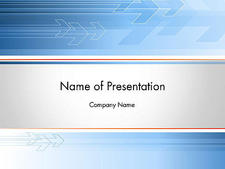 Business Oriented PowerPoint Template, 12152, Business — PoweredTemplate.com