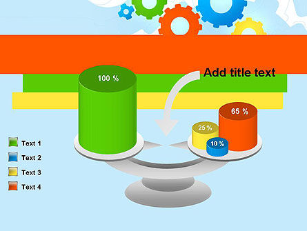 Cogwheels Colorful Theme PowerPoint Template Slide 10