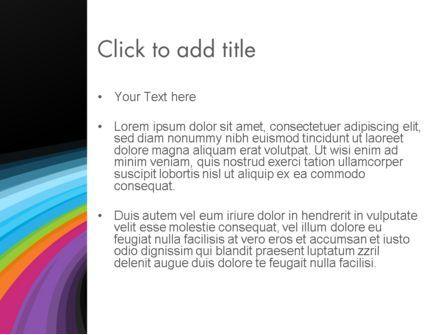 Spectral PowerPoint Template, Slide 3, 12165, Abstract/Textures — PoweredTemplate.com