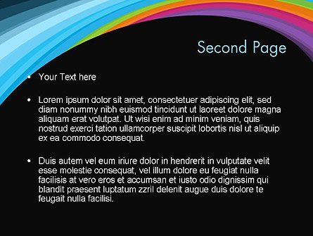 Spectral PowerPoint Template, Slide 2, 12165, Abstract/Textures — PoweredTemplate.com