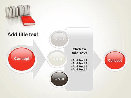Books Development PowerPoint Template. Slide 17