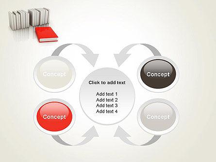 Books Development PowerPoint Template. Slide 6