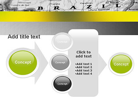 Map of Brazil PowerPoint Template Slide 17