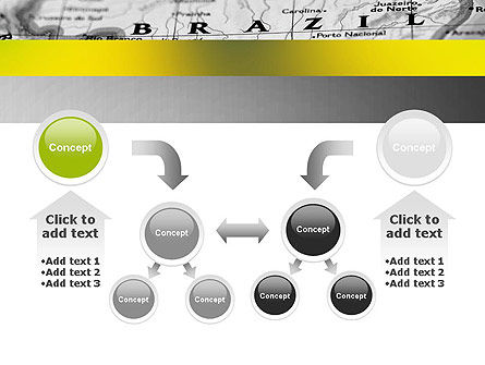 Map of Brazil PowerPoint Template Slide 19