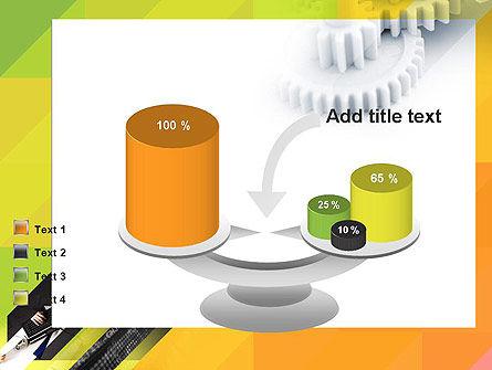 Orange Lemon Business Background PowerPoint Template Slide 10