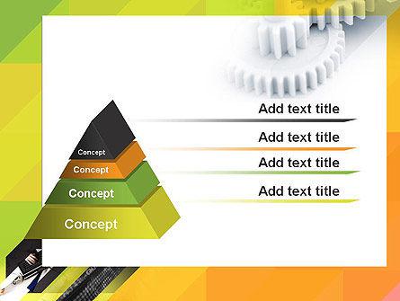 Orange Lemon Business Background PowerPoint Template Slide 12