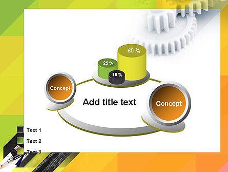 Orange Lemon Business Background PowerPoint Template Slide 16