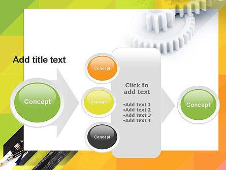 Orange Lemon Business Background PowerPoint Template Slide 17