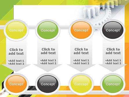 Orange Lemon Business Background PowerPoint Template Slide 18