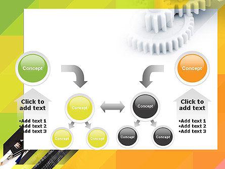 Orange Lemon Business Background PowerPoint Template Slide 19