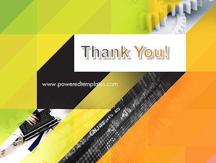 Orange Lemon Business Background PowerPoint Template Slide 20