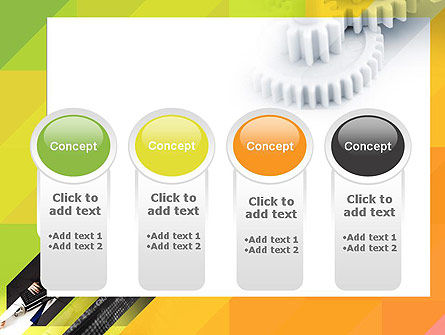 Orange Lemon Business Background PowerPoint Template Slide 5