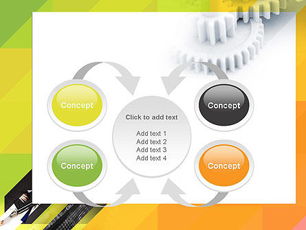 Orange Lemon Business Background PowerPoint Template Slide 6