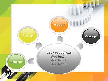 Orange Lemon Business Background PowerPoint Template Slide 7