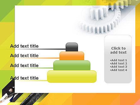 Orange Lemon Business Background PowerPoint Template Slide 8