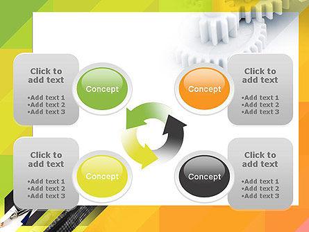Orange Lemon Business Background PowerPoint Template Slide 9