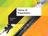 Business: Orange Lemon Business Background PowerPoint Template #12169