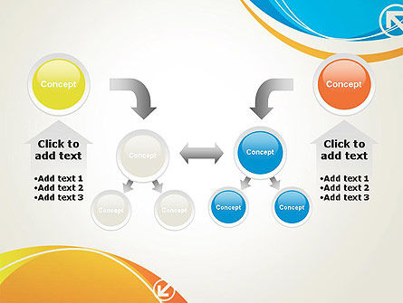Abstract Opposites PowerPoint Template Slide 19