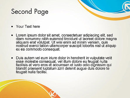 Abstract Opposites PowerPoint Template Slide 2