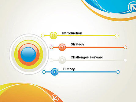 Abstract Opposites PowerPoint Template Slide 3
