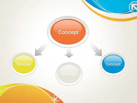 Abstract Opposites PowerPoint Template, Slide 4, 12171, Abstract/Textures — PoweredTemplate.com