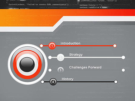 Source Code PowerPoint Template, Slide 3, 12172, Technology and Science — PoweredTemplate.com
