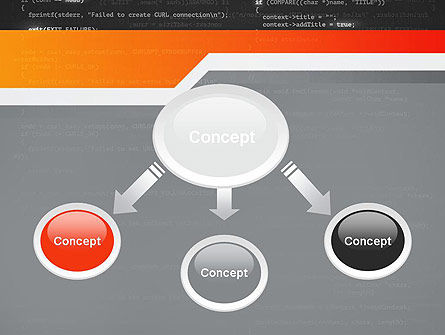Source Code PowerPoint Template, Slide 4, 12172, Technology and Science — PoweredTemplate.com