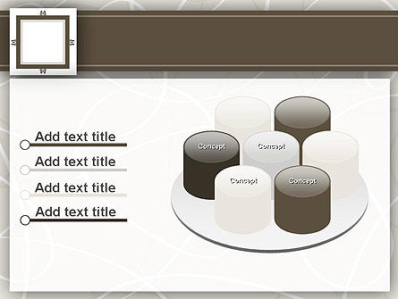 Brown Frame PowerPoint Template Slide 12