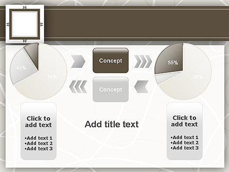 Brown Frame PowerPoint Template Slide 16