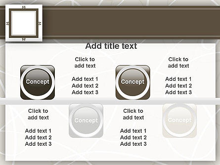 Brown Frame PowerPoint Template Slide 18