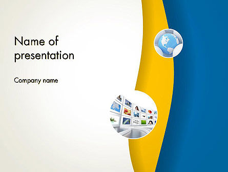 Business: Simple Business Background PowerPoint Template #12175