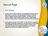 Simple Business Background PowerPoint Template#2