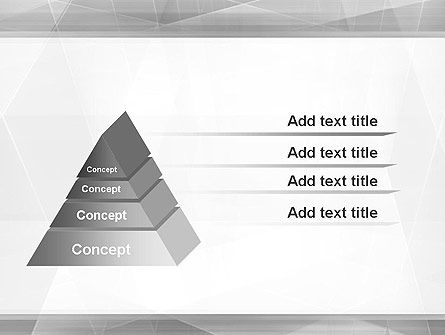 Grey Abstract Geometric PowerPoint Template Slide 12