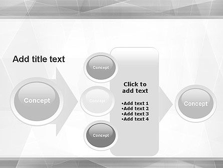 Grey Abstract Geometric PowerPoint Template Slide 17