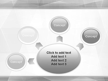 Grey Abstract Geometric PowerPoint Template Slide 7
