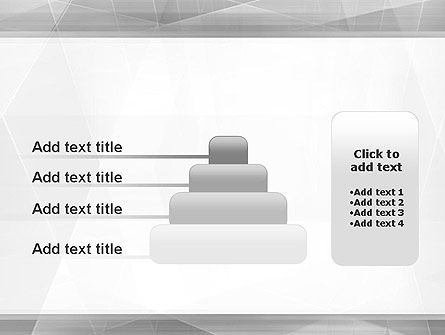 Grey Abstract Geometric PowerPoint Template Slide 8