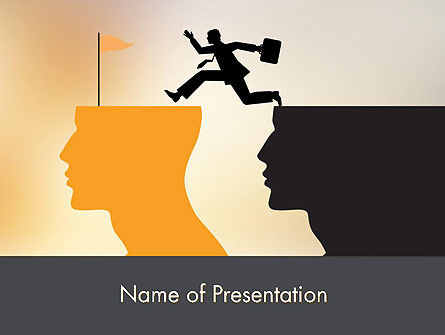 Mind Shift PowerPoint Template, 12178, Careers/Industry — PoweredTemplate.com