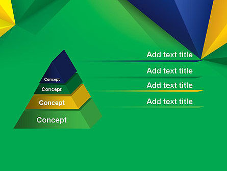 Abstract Geometric Triangles PowerPoint Template Slide 12