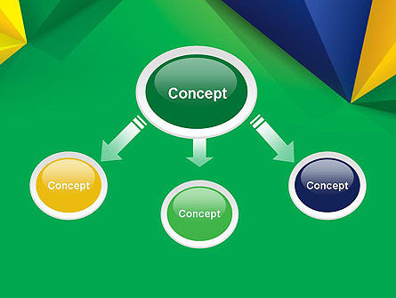 Abstract Geometric Triangles PowerPoint Template Slide 4