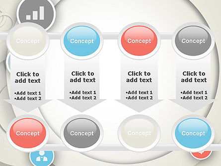 Circles and Icons PowerPoint Template Slide 18