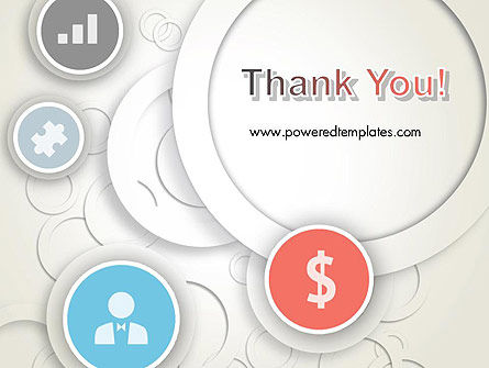 Circles and Icons PowerPoint Template Slide 20
