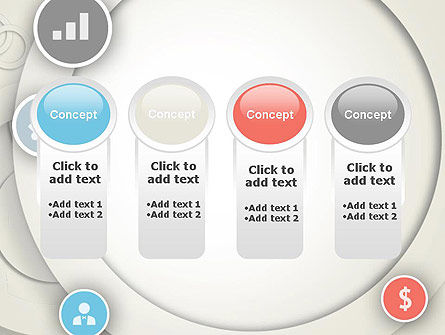 Circles and Icons PowerPoint Template Slide 5