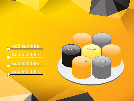 Polygonal PowerPoint Template Slide 12