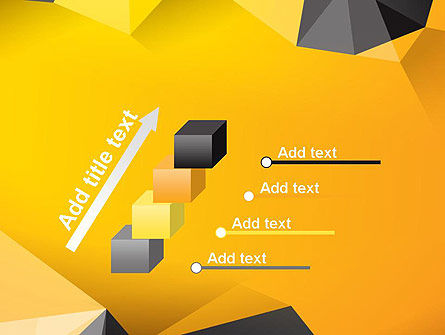 Polygonal PowerPoint Template Slide 14